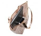 Bolsa Shopper Transparente - Diamantes