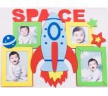 Adesivo de Parede com Porta Retrato Infantil