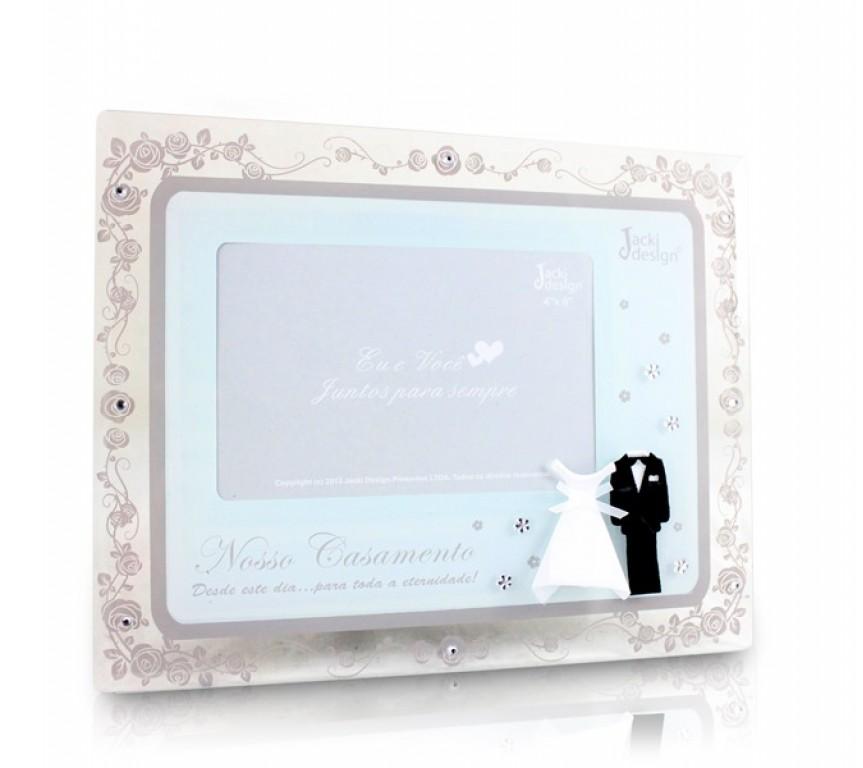 Porta Retrato Temático Casamento 10x15